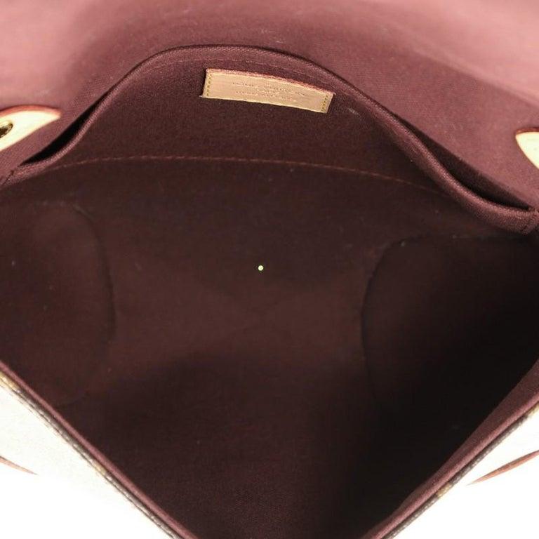 Louis Vuitton Saint Cloud NM Bag Monogram Canvas For Sale 1