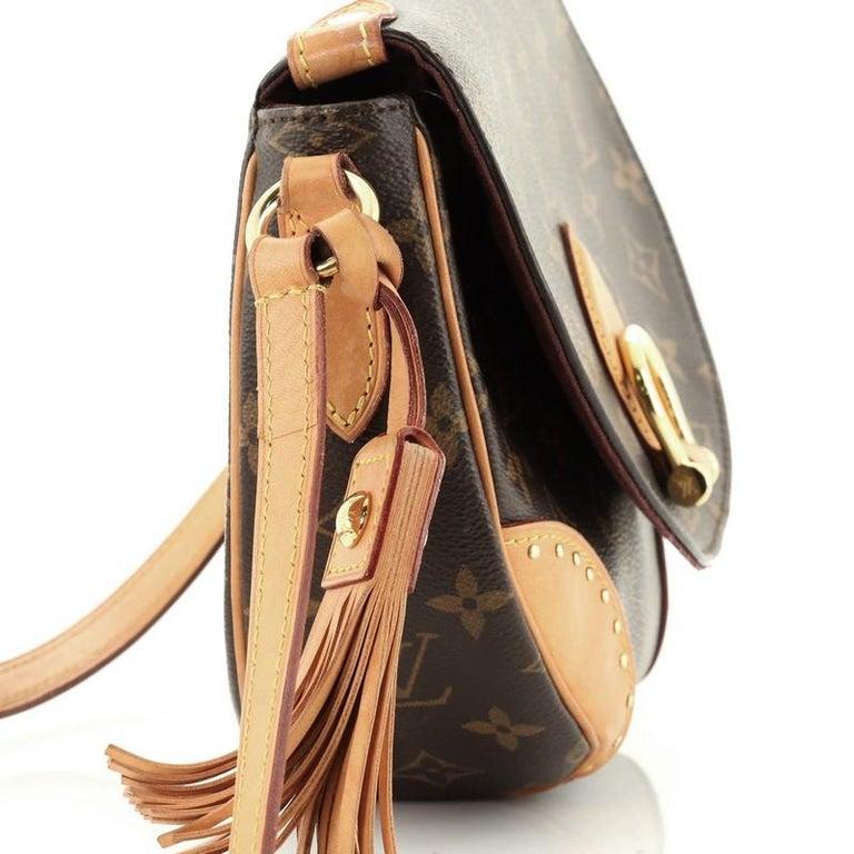 Louis Vuitton Saint Cloud NM Bag Monogram Canvas For Sale 4