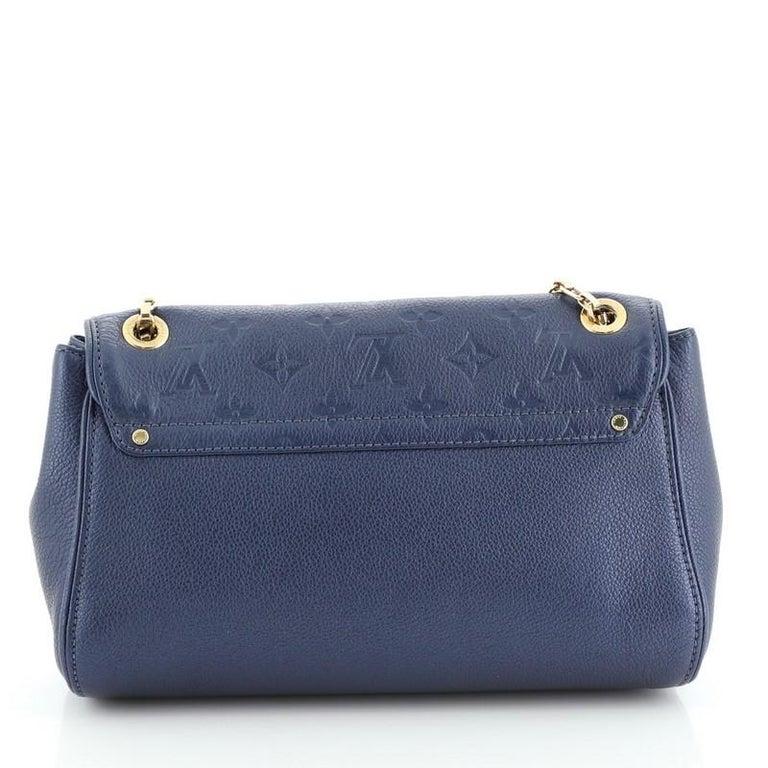 Louis Vuitton Saint Germain Handbag Monogram Empreinte Leather PM In Good Condition For Sale In New York, NY