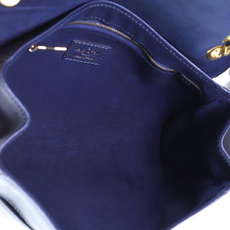 Louis Vuitton Saint Germain Handbag Monogram Empreinte Leather PM For Sale 1