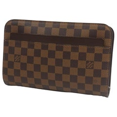 LOUIS VUITTON Saint Louis Mens second bag N51993 Damier ebene