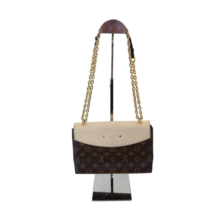 Brand - Louis Vuitton Collection - Saint-Placide Estimated Retail - $2,920.00 Style - Crossbody Material - Canvas Color - Bicolor (Beige & Brown) Pattern - Monogram Closure - Magnetic Hardware Material - Goldtone Model/Date Code - CA1158 Comes With