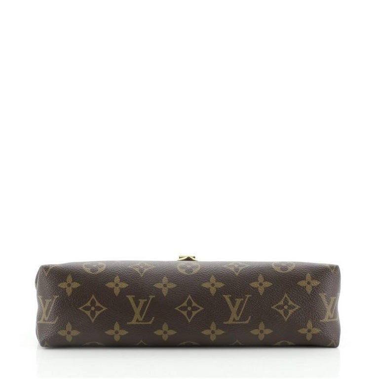 Women's or Men's Louis Vuitton Saint Placide Handbag Monogram Canvas and Leather For Sale