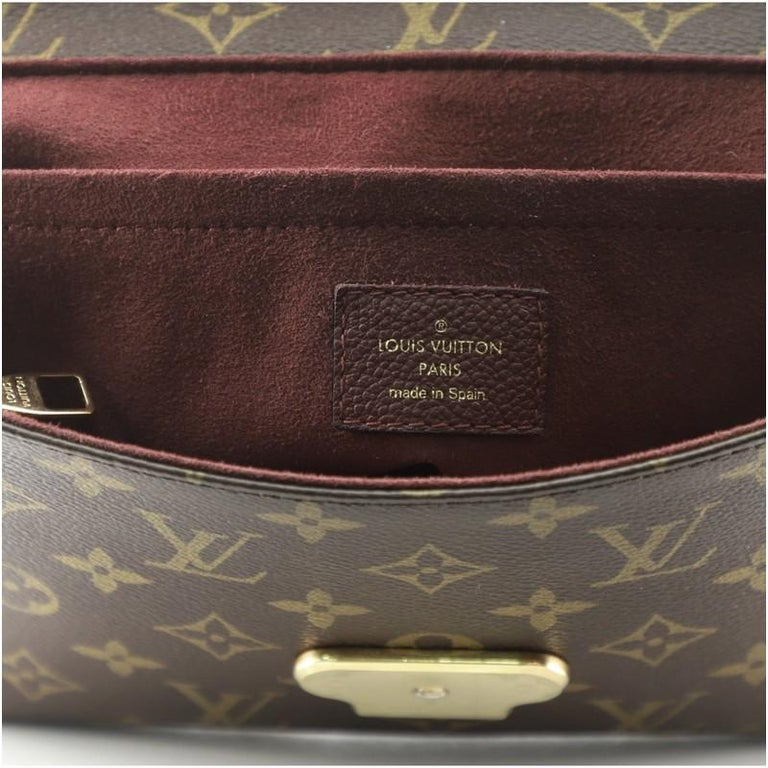 Louis Vuitton Saint Placide Handbag Monogram Canvas and Leather For Sale 2
