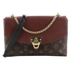 Louis Vuitton Saint Placide Handbag Monogram Canvas and Leather