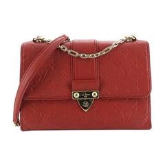 Louis Vuitton Saint Sulpice Handbag Monogram Empreinte Leather PM