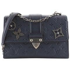 Louis Vuitton Saint Sulpice Handbag Pins Monogram Empreinte Leather PM