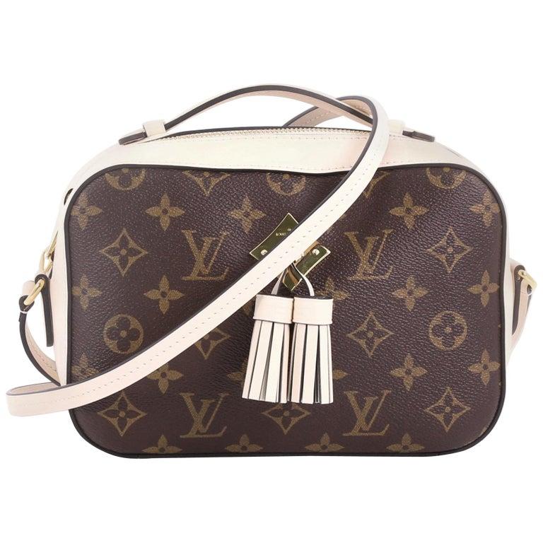 9f0d33e48ea Louis Vuitton Saintonge Handbag Monogram Canvas with Leather