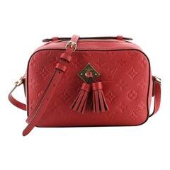 Louis Vuitton Saintonge Handbag Monogram Empreinte Leather