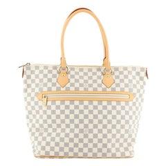 Louis Vuitton Saleya Handbag Damier GM
