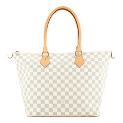 Louis Vuitton Saleya Handbag Damier MM
