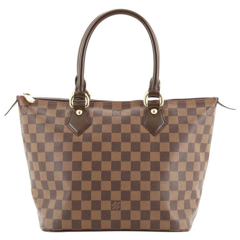 Louis Vuitton Saleya Handbag Damier PM For Sale