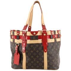 Louis Vuitton Salina Handbag Limited Edition Rubis Monogram Canvas MM