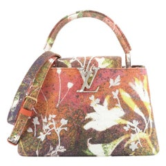 Louis Vuitton Sam Falls Artycapucines Bag Embroidered Printed Canvas PM