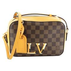 Louis Vuitton Santa Monica Crossbody Bag Damier