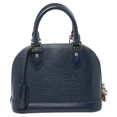 Louis Vuitton Saphir Epi Leather Alma BB Bag