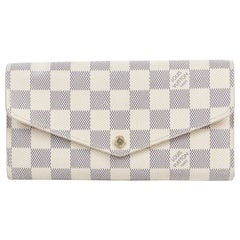 Louis Vuitton Sarah Damier Azur Wallet
