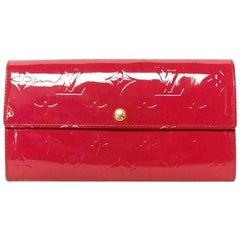 Louis Vuitton SARAH Vernis Monogram Wallet