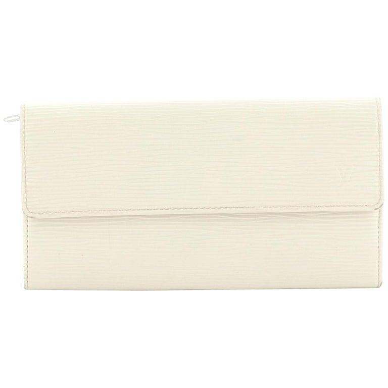 Louis Vuitton Sarah Wallet Epi Leather For Sale