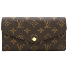 Louis Vuitton Sarah Wallet in Brown Monogram