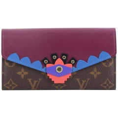 Louis Vuitton Sarah Wallet Limited Edition Totem Monogram Canvas