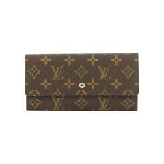 Louis Vuitton Sarah Wallet Monogram Canvas
