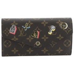 Louis Vuitton Sarah Wallet NM Limited Edition Love Lock Monogram Canvas