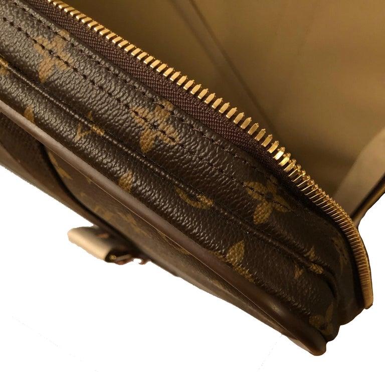 Louis Vuitton Satellite 65 Monogram Suitcase For Sale 7