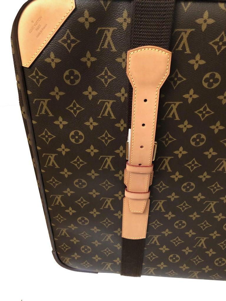 Louis Vuitton Satellite 65 Monogram Suitcase In Excellent Condition For Sale In Geneva, CH
