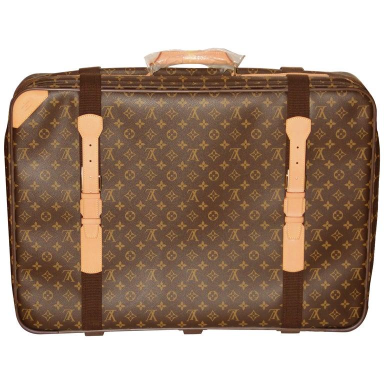Louis Vuitton Satellite 65 Monogram Suitcase For Sale