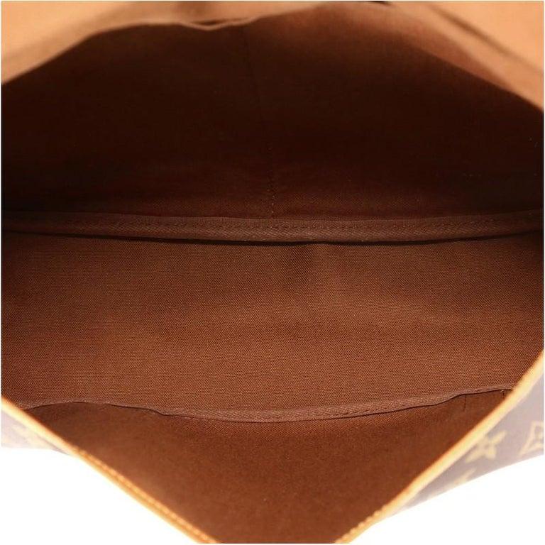 Louis Vuitton Saumur Handbag Monogram Canvas 43 6