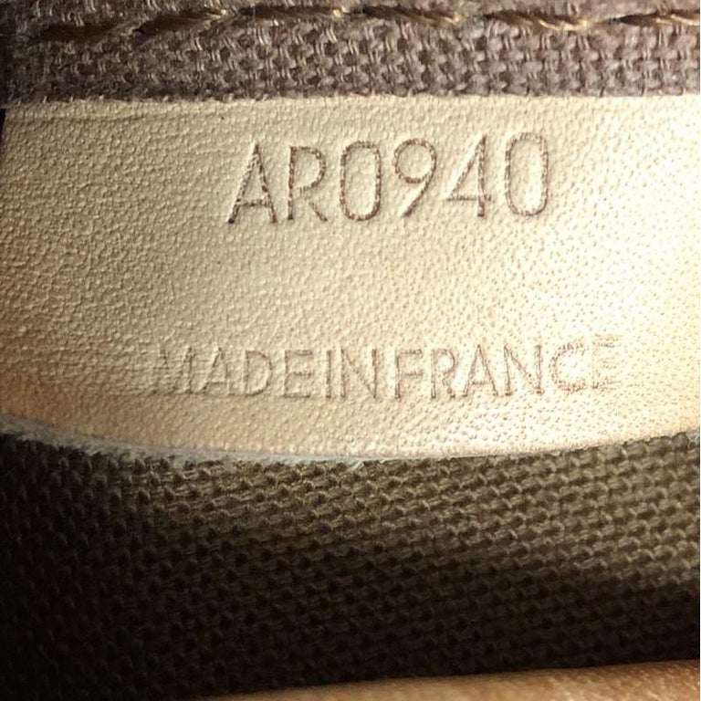 Louis Vuitton Saumur Handbag Monogram Canvas 43 7