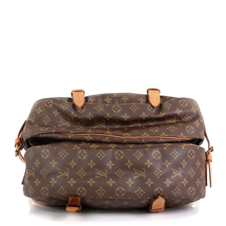 Louis Vuitton Saumur Handbag Monogram Canvas 43 In Good Condition In New York, NY