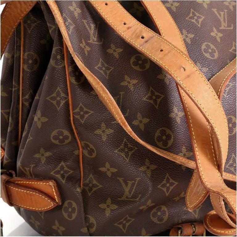 Women's Louis Vuitton Saumur Handbag Monogram Canvas 43