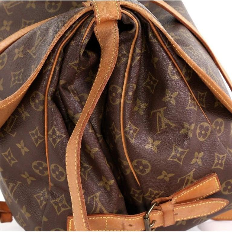 Louis Vuitton Saumur Handbag Monogram Canvas 43 2