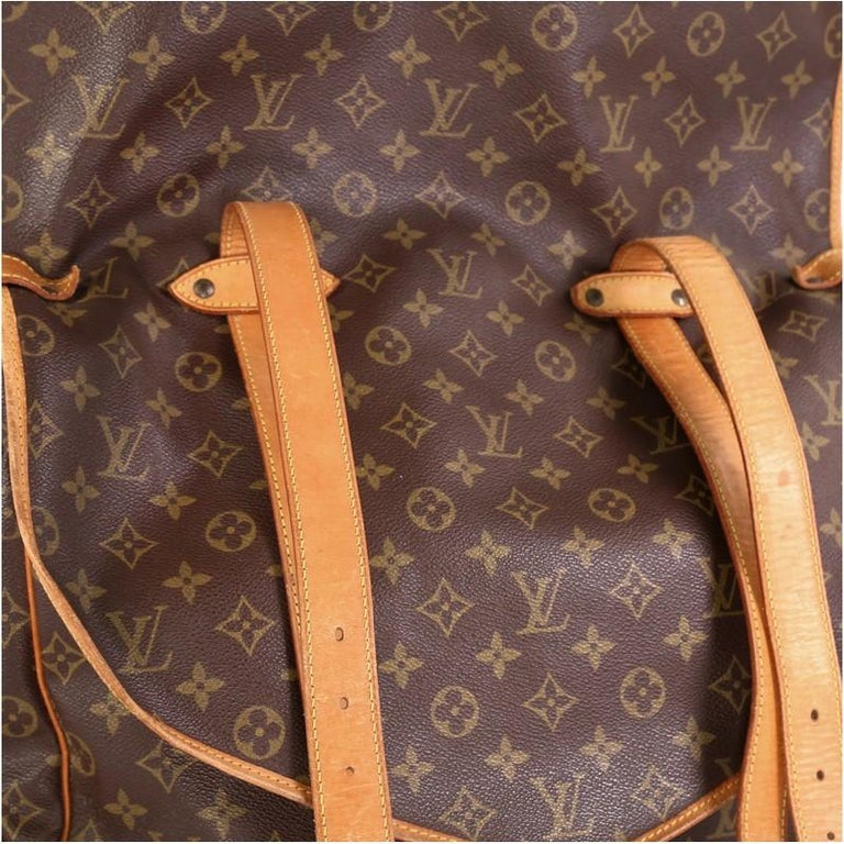 Louis Vuitton Saumur Handbag Monogram Canvas 43 3