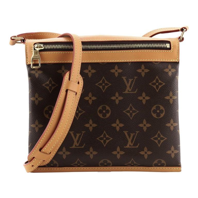 Louis Vuitton Saumur Messenger Bag Monogram Canvas PM For Sale