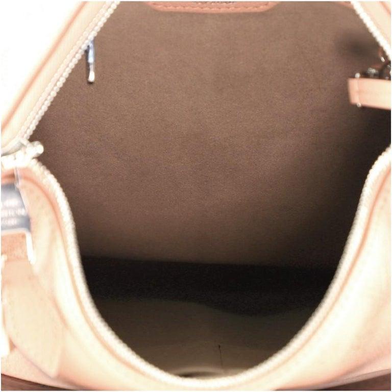 Women's or Men's Louis Vuitton Selene Handbag Mahina Leather PM For Sale