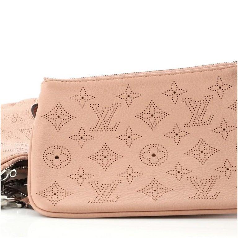 Louis Vuitton Selene Handbag Mahina Leather PM For Sale 1