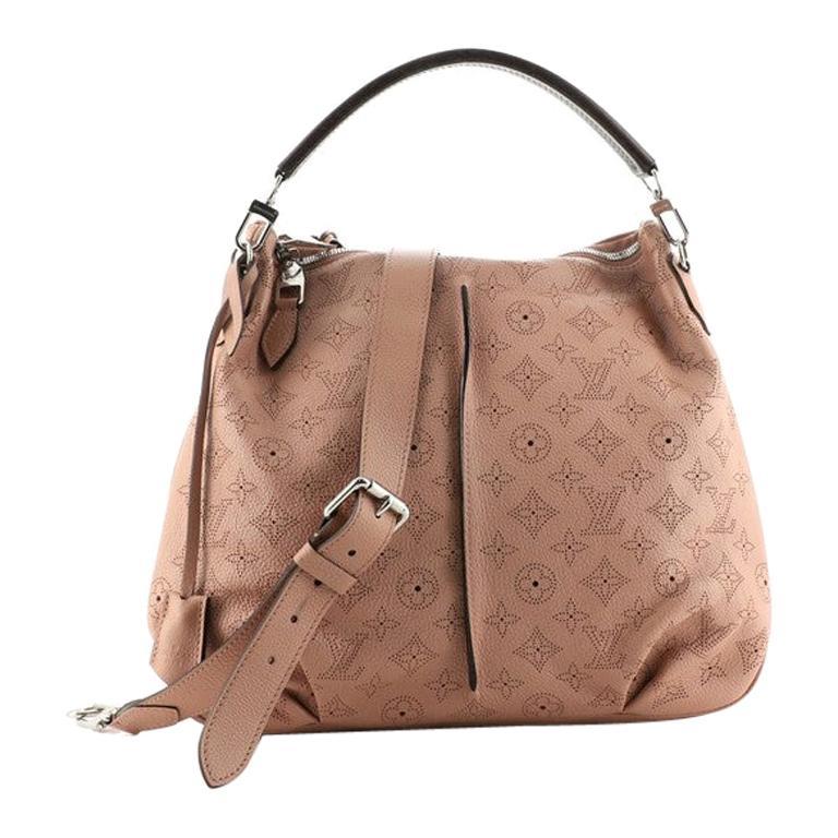 Louis Vuitton Selene Handbag Mahina Leather PM For Sale