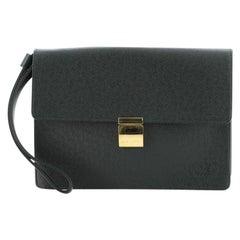 Louis Vuitton Selenga Pochette Taiga Leather