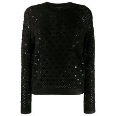 Louis Vuitton Sequin Embellished Top
