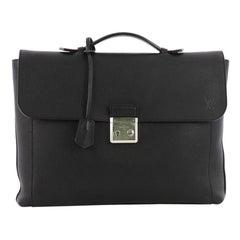 Louis Vuitton Serviette Dorian Taurillon Leather