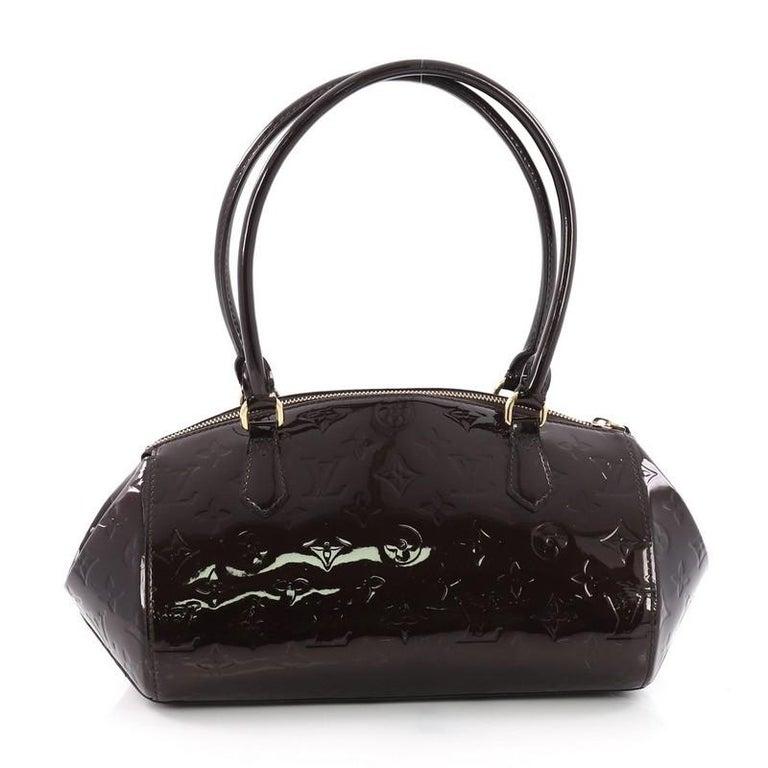 2c58c109ceb0 Louis Vuitton Sherwood Handbag Monogram Vernis PM In Good Condition For  Sale In New York