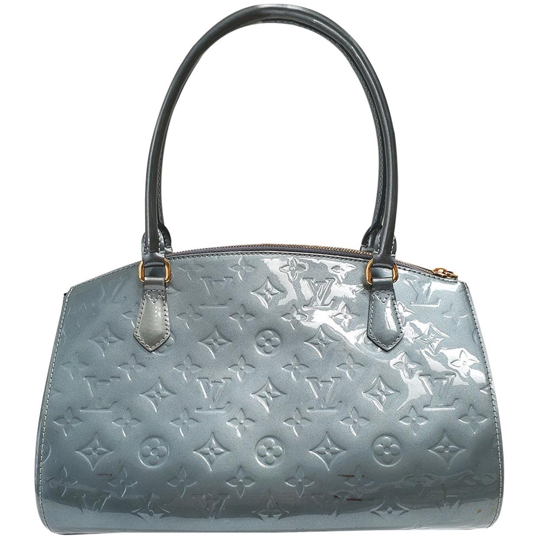Louis Vuitton Sherwood PM Green Monogram Vernis Shoulder Bag