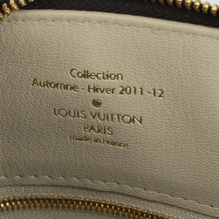 LOUIS VUITTON shine fetish lockit Handbag in Brown Canvas For Sale 1