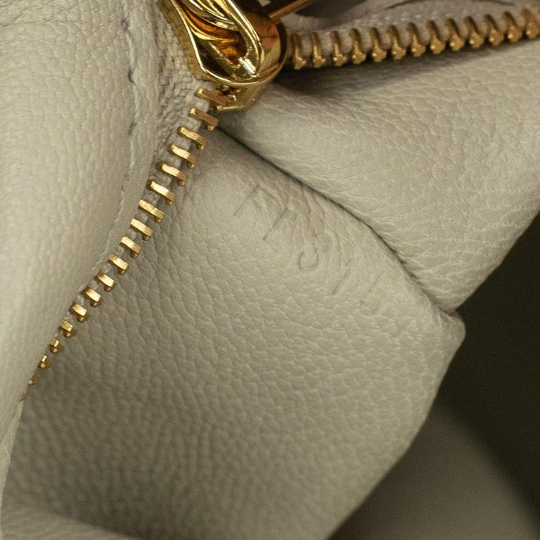 LOUIS VUITTON shine fetish lockit Handbag in Brown Canvas For Sale 2