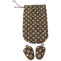 Louis Vuitton Shoe Cover and Shoe Stuffers Vintage Set of