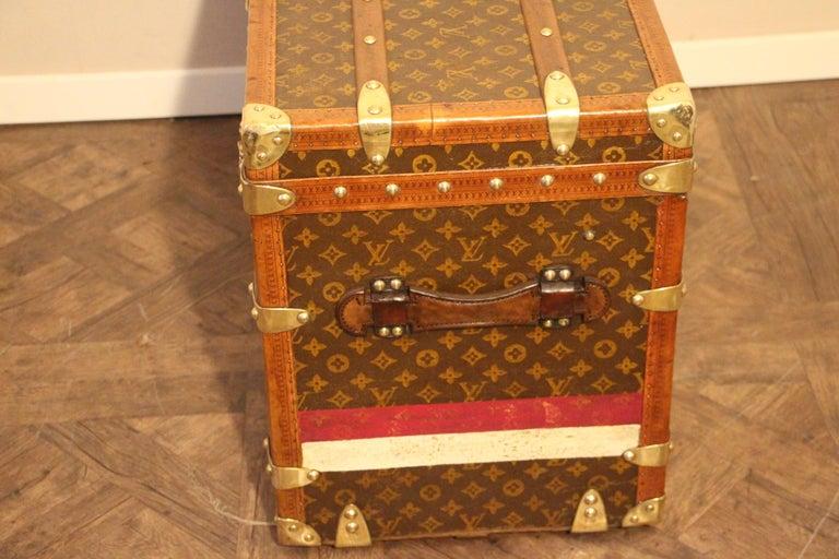 Louis Vuitton Shoe Trunk, Louis Vuitton Trunk, Louis Vuitton Steamer Trunk For Sale 5