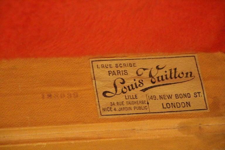 Louis Vuitton Shoe Trunk, Louis Vuitton Trunk, Louis Vuitton Steamer Trunk For Sale 11